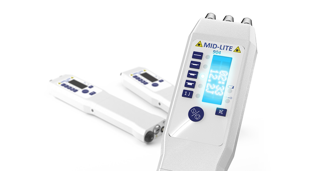MID-Lite Laserutrustning, 808 Nm 2 X Dioder à 500mW