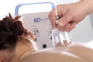 6D-Action Vacuumsug Massageenhet