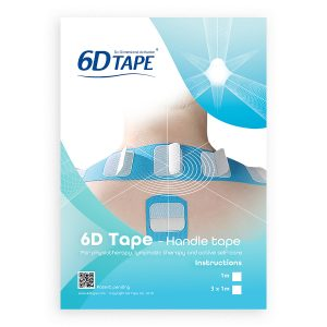 6-D Tape, 1 Meter Tape Med Handhavande Beskrivning