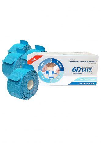 6-D Tape, 20 Meter Tape, 4 X 5 Meters Rullar