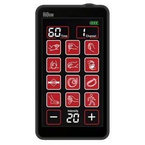 HiDow Wireless Pro Touch 6-12 TENS & Muskelstimulator, Trådlös, Levereras Som 2-kanalig.
