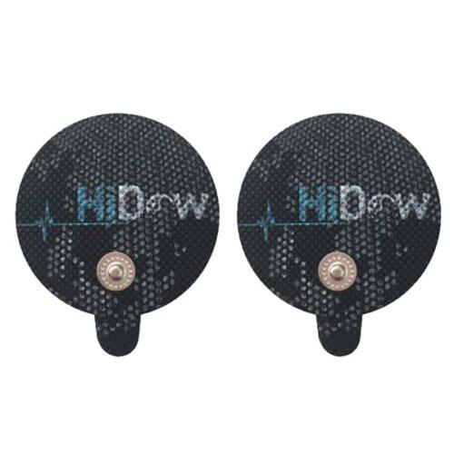 HiDow Självhäftande Elektrod, Standard – Medelstor Rund Elektrod, Antal: 2styck/1par