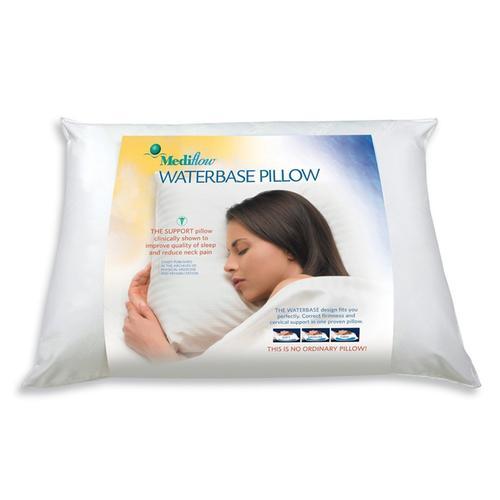 Mediflow – Anatomisk Sovkudde – Unik Vattenfylld Kudde För Bästa Komfort.