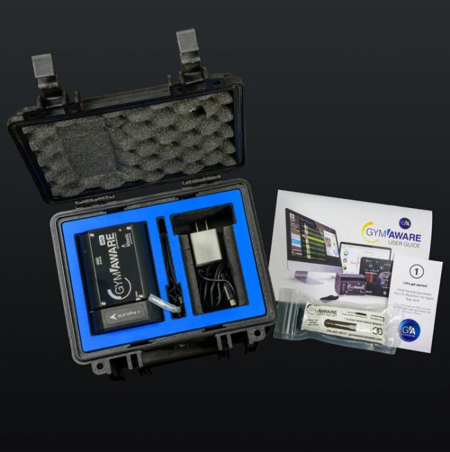 GymAware 1 – Travel – Testinstrument – Endast Testenheten Med Praktiskt Transportväska.