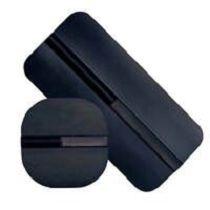 Kolgummi Elektrod 50x50mm Inklusive Elektrodsvamp, Antal 1st., 2mm Anslutning.
