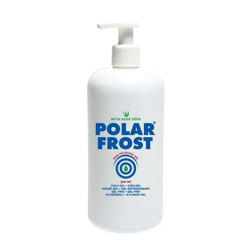 PolarFrost Kylande Gel, Flaska 500ml Med Pump