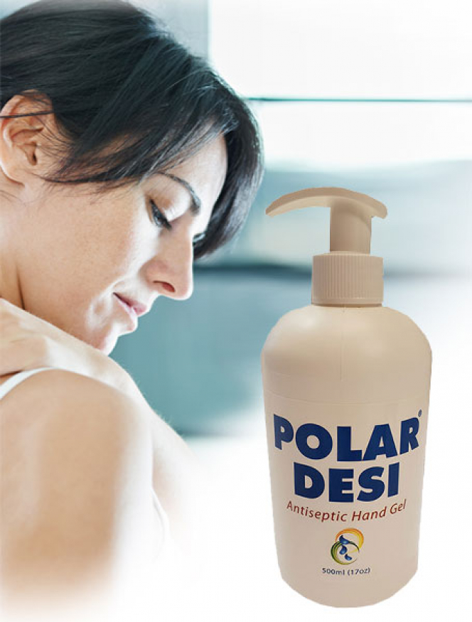 Polar Desi – Handsprit, Liten Flaska 100ml.