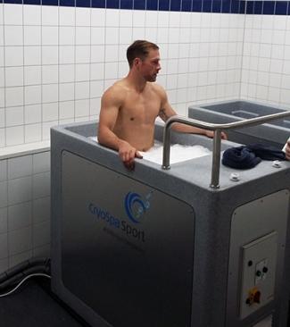 Team CryoSpa Sport – Kallbad För 1-8 Personer I Två Likadana Pooler.