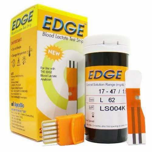The Edge Teststickor Förpackning Om 25st